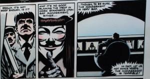 Vendetta. Alan moore y David Lloyd. Relatos en construcción