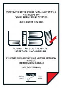 Libu, librería, bilbao, zubietxe, inserción social, invitación