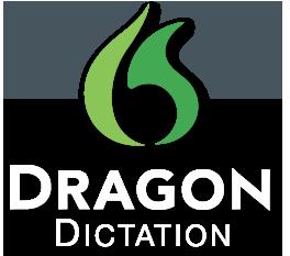 dragon dictation, dictado, escribir