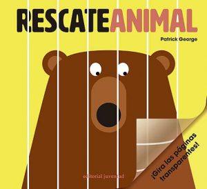 patrick george, rescate animal, libro infantil