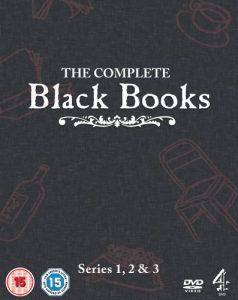 black books, dvd, serie