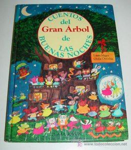 cuentos del gran árbol de las buenas noches, laura magri, giulia orecchia, libro infantil