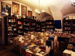 austeria, librería, cracovia,