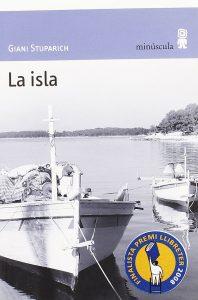 la isla, giani stuparich, minúscula, relatos en construcción, portada
