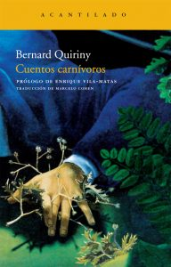 cuentos-carnivoros, Bernard Quiriny, acantilado, portada
